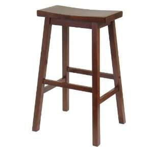 Saddle Seat 29 Stool, Single, Rta By Winsome Wood Furniture & Decor