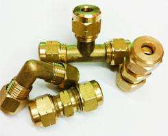 6mm Brass Compression Fittings Straight Reducer Elbow Tee 6 mm Coupler