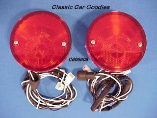 1964 1966 Chevy Truck Stainless Steel Tail Lights (2) 1965