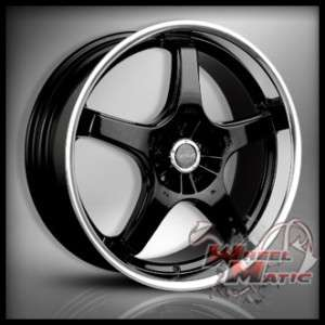 20 MRR GT5 Staggered Wheels 5x114.3 Rims IS GS LS G35