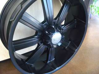 24 WHEELS/RIMS+TIRES ESCALADE SUBURBAN TAHOE DENALI 22