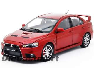 CSM 118 MITSUBISHI LANCER EVO EVOLUTION X BRAND NEW DIECAST MODEL CAR
