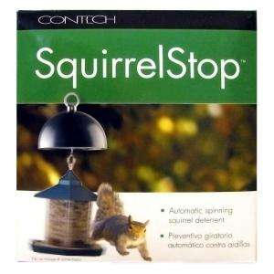 Contech Electronics SquirrelStop Automatic Spinning Squirrel Deterrent