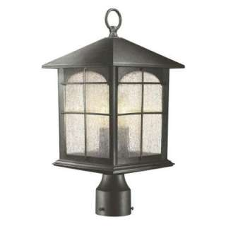 Hampton Bay 3 Light Outdoor Post Lamp Y37031 151