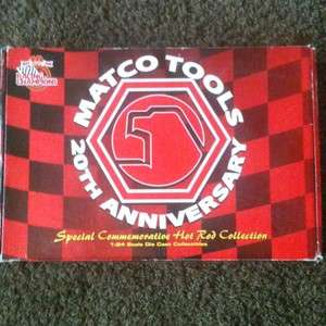 Matco Tools 20th Anniversary Commemorative Hot Rod Collection