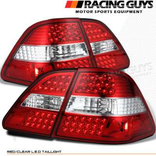 01 02 03 LEXUS LS430 RED/CLEAR FULL LED TAIL LIGHTS NEW