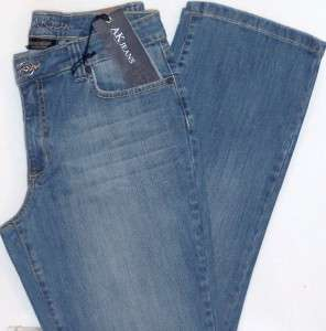 ANN KLEIN Denim Jeans. Boot Cut Stretch. NWT Ladies Size 10 s