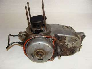 1975 Bultaco Alpina 350 Engine Motor Bottom End   Image 05