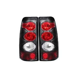 Anzo USA 211022 Chevrolet Silverado Black Tail Light Assembly   (Sold