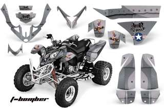 AMR QUAD GRAPHIC DECAL STICKER KIT POLARIS PREDATOR 500