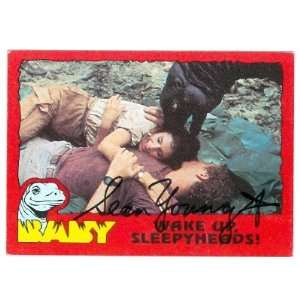 Sean Young autographed trading card Baby Dinosaur Movie
