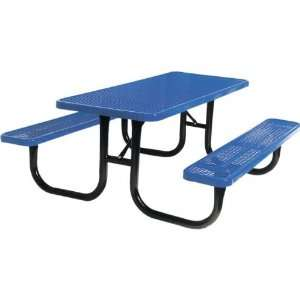 8 Ft Extra Heavy Duty Diamond Cut Picnic Table Patio