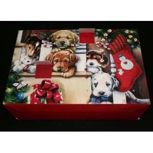 Advent Calendar Gift Box   Christmas Puppies, 24 Secret