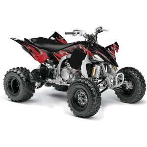 Yamaha YFZ 450 ATV Quad, Graphic Kit   Tribal Flames B Automotive