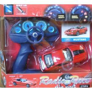 Ford Mustang Radio Race Die Cast Remote Control Car