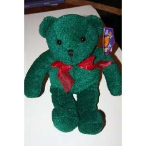 Green Christmas Teddy Bear Plush Toy Toys & Games