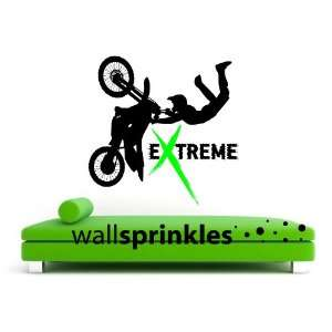 MOTORCROSS/DIRT BIKE WALL STICKERS DECALS GRAPHICS ART