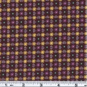 45 Wide Designer Bags Dots Eggplant Fabric By The Yard