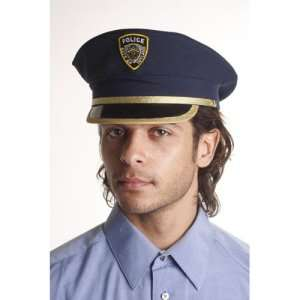 Police Hat Adult Costume Accessory  Clothing