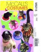 Sewing Pattern Pet Costumes Hats and Collars Arts, Crafts & Sewing