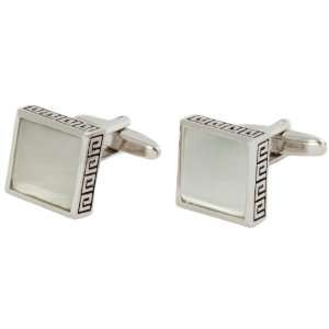 White Fiber Optic Cufflinks by Cuff Daddy Cuff Daddy