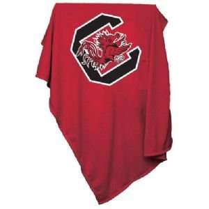 South Carolina Gamecocks NCAA Sweatshirt Blanket Throw