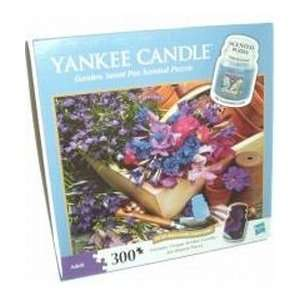 Garden Sweet Pea Scented Yankee Candle 300 Piece Puzzle
