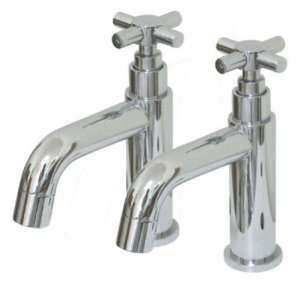 Kingston Brass Chrome Finish Bathroom Faucet with Handles