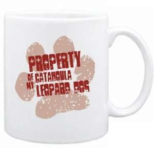 New  Property Of My Catahoula Leopard Dog  Mug Dog
