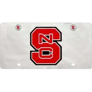 NCAA North Carolina State Wolfpack License Plate with