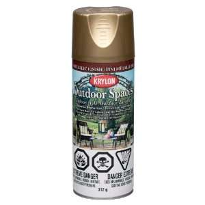 Krylon K02906000 Outdoor Spaces Metallic Finish Aerosol Spray Paint