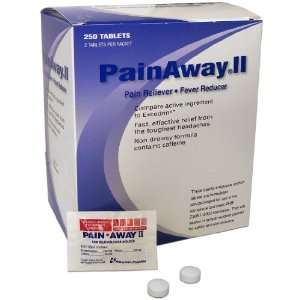 Pain Away® II Individually Packaged Pain Reliever/Fever Reducer (250