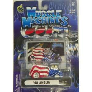 Muscle Machines 1/64 Scale Diecast 1948 Anglia in Color
