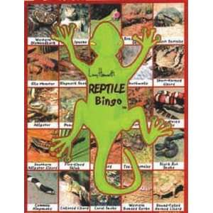 Reptile Bingo Educational Game Toys & Games