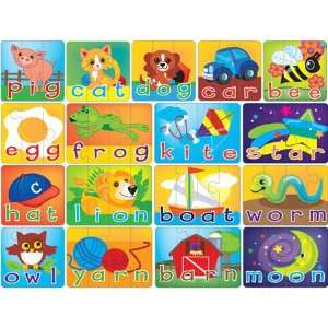 MasterPieces Spelling Puzzle Game (56pc) Toys & Games