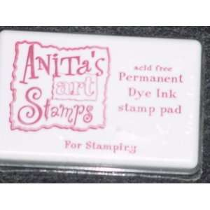 Rubber Stamp Ink Pad   Cranberry