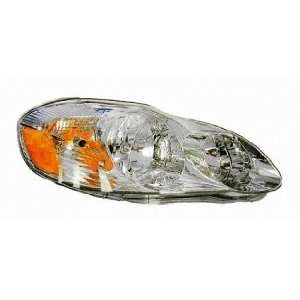 03 04 Toyota Corolla Headlight (Passenger Side) (2003 03