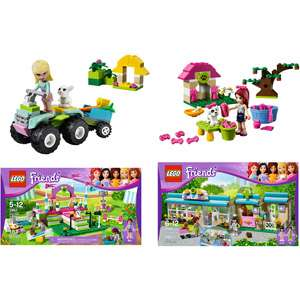 LEGO Friends Heartlake Bundle Building Blocks & Sets