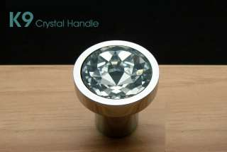 K9 Top Quality Crystal Glass Handle Knob Cabinet Door New 2002