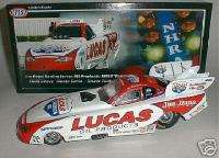 TONY BARTONE LUCAS OIL FUNNY CAR WITH COVER 2006