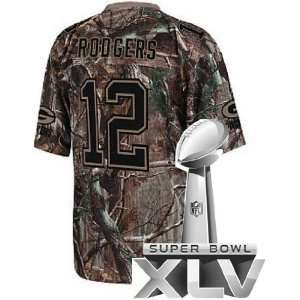 Jerseys #12 Aaron Rodgers Camo Authentic Jersey S XXL Sports