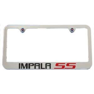 Chevrolet Impala SS Chrome License Plate Frame 2006   2009