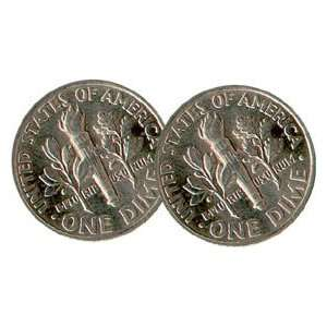 Tail Dime two sided coin Money magic Trick coins