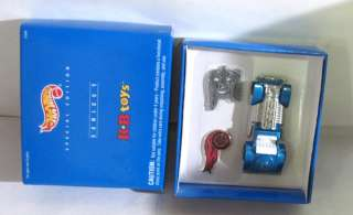UNUSED KB TOYS SERIES 1 BLUE HOT WHEELS CAR DIECAST