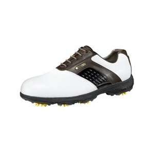 Etonic Dri Tech II Golf Shoes White   Dark Brown 13 W