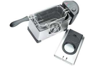 2000W 3L Electric Deep Fryer Stainless Steel for Housing Comercial