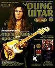 Yngwie Malmsteen Steve Vai Frank Zappa etc GUITAR PLAYER 2 11